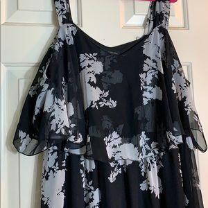 Lane Bryant flowy dress